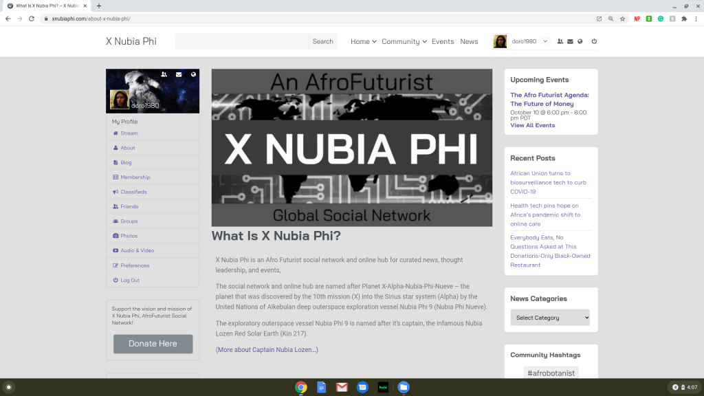 X Nubia Phi About Us